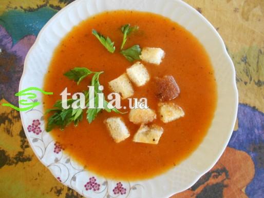 Рецепт. Томатный суп