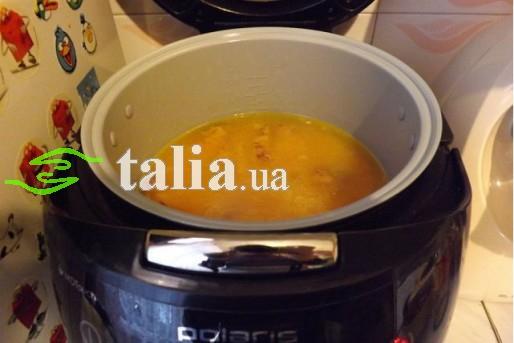 Рецепт. Суп в мультиварке с горохом