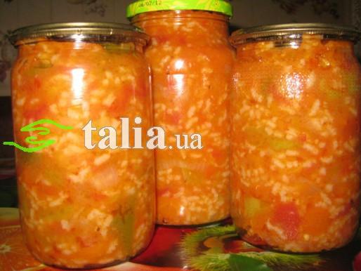 Рецепт. Суп на зиму с рисом