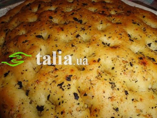 Рецепт. Лепешки итальянские ''Фокачча''