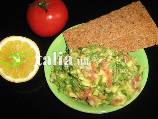 Рецепт. Гуакамоле соус