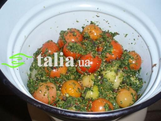 Рецепт. Малосольные помидоры