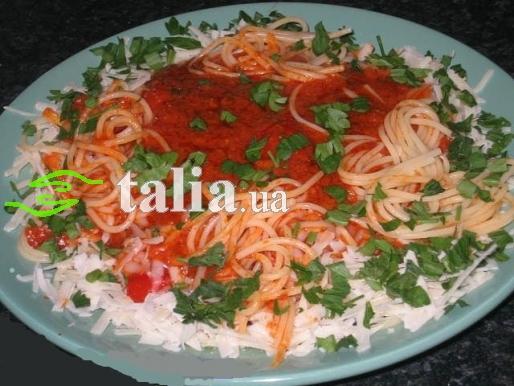 Рецепт. Томатная паста итальянская