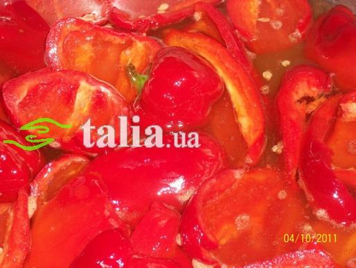 Рецепт. Перец маринованный болгарский