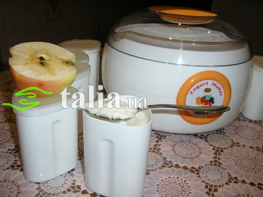 Рецепт. Йогурт в йогуртнице