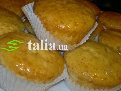 Рецепт. Творожные кексы с лимоном