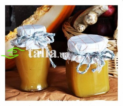 Рецепт. Мармелад тыквенно-яблочный