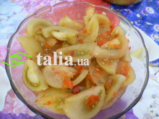 Рецепт. Маринованные помидоры
