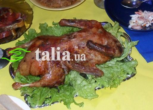 Рецепт. Маринад для утки с имбирём и апельсиновым соком