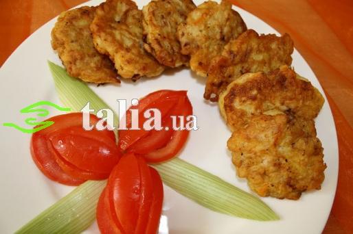 Рецепт. Бризоль из печени куриной в кляре