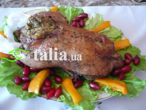 Качка в рукаве в духовке рецепт 4