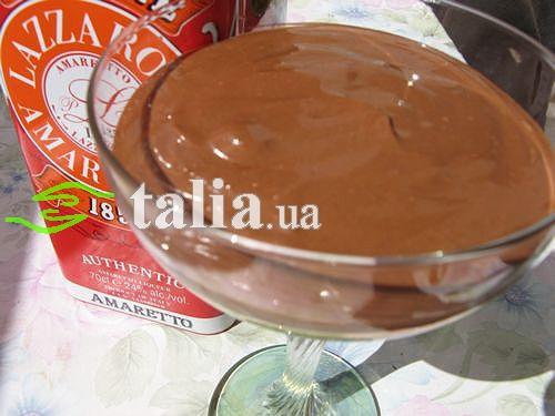 Рецепт. Шоколадный крем на десерт