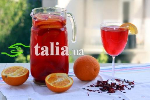 Рецепт. Чай ''Каркаде''