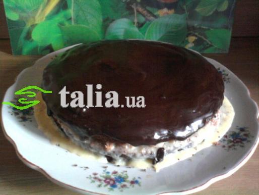 Рецепт. Шоколадная глазурь для торта