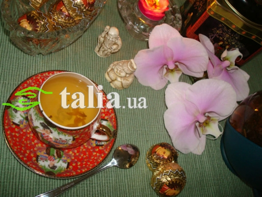 Рецепт. Белый чай