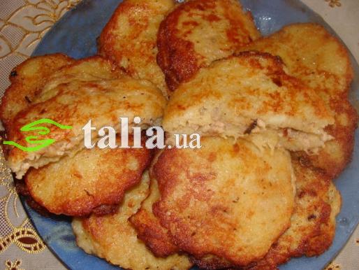 Рецепт. Колдуны с мясом картофельные
