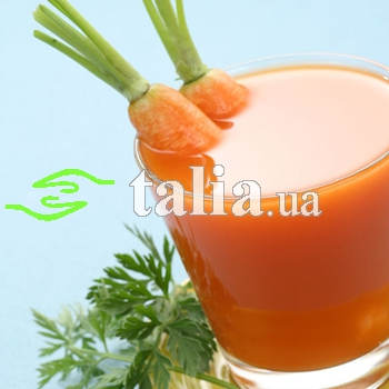 Рецепт. Морковный сок (свежевыжатый)