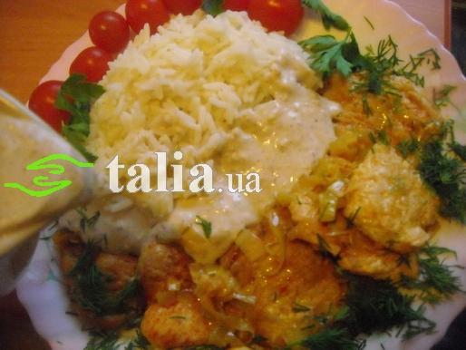 Рецепт. Подлива к рису кисло-сладкая с мясом