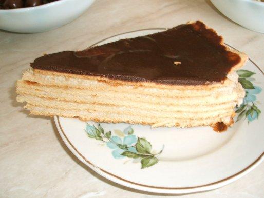 Рецепт. Домашний медовый торт