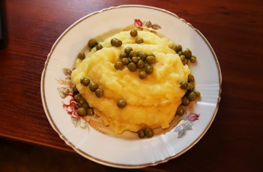 Рецепт. Картофельное пюре с молоком