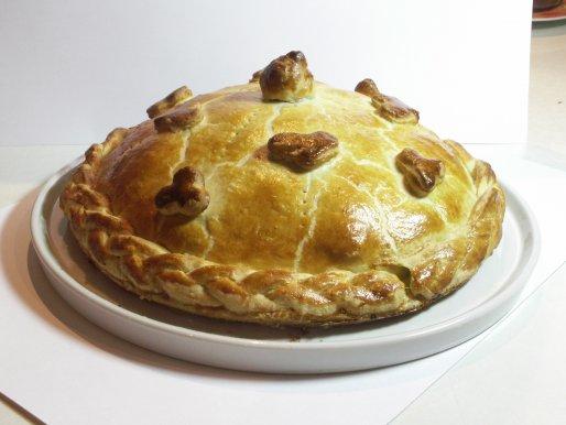 Рецепт. Курник свадебный пирог