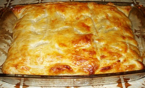 Рецепт. Пирог с капустой