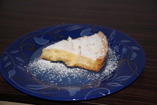 Рецепт. Сдобный пирог с заварным кремом