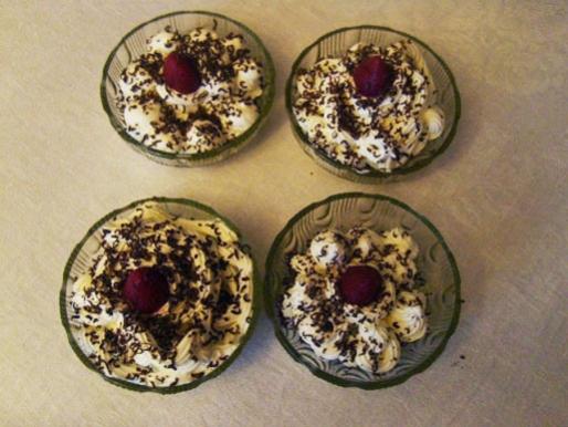 Рецепт. Взбитые сливки для десертов