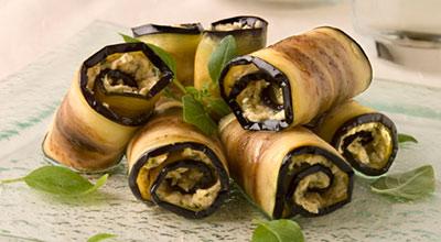 Рецепт. Жареные баклажаны с чесноком