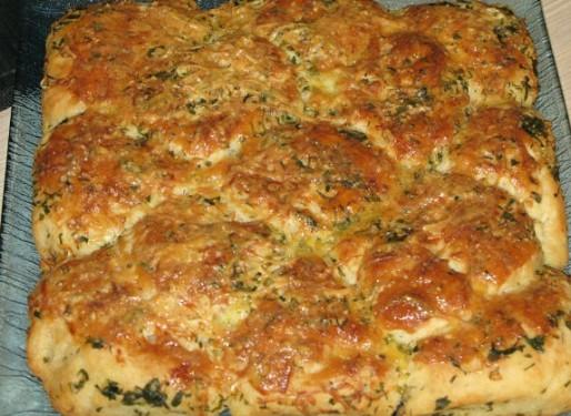 Рецепт. Постный хлеб на минеральной воде