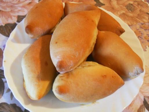 Рецепт. Постные пирожки с капустой
