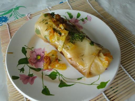 Рецепт. Голубцы постные с картошкой