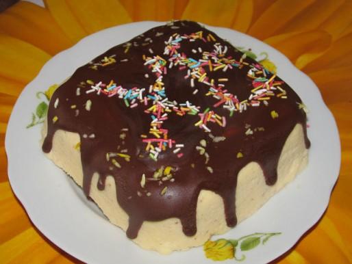 "Рецепт. Пасха ""Царская"" с шоколадной глазурью"