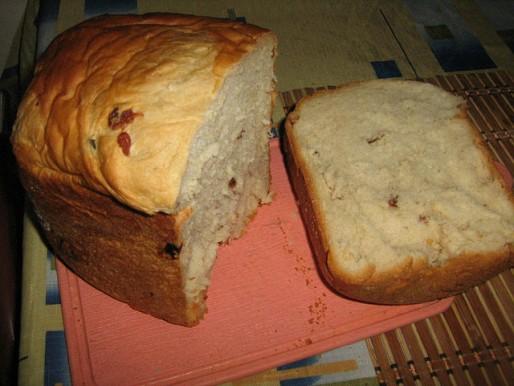 Рецепт. Пасхальный хлеб из хлебопечки