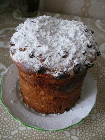 Рецепт. Пасха с апельсиновой цедрой и орехами