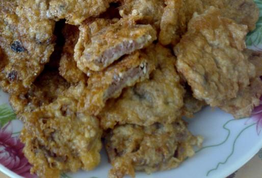 Рецепт. Биточки из куриных сердец