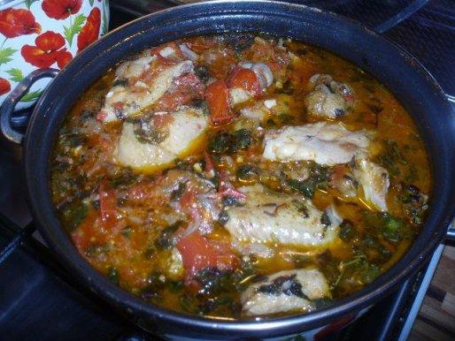 Рецепт. Чахохбили из курицы по грузински