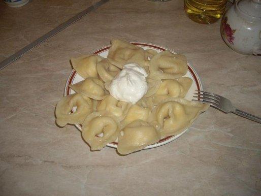 Рецепт. Тесто для пельменей (заварное тесто)