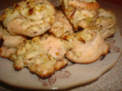 Рецепты куриное филе в духовке с яблоками