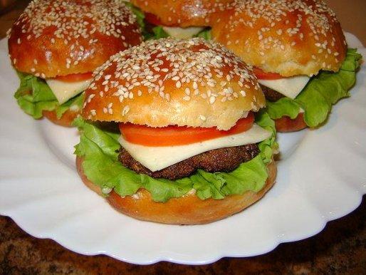 "Рецепт. Гамбургер ""Домашний Макдональдс"""