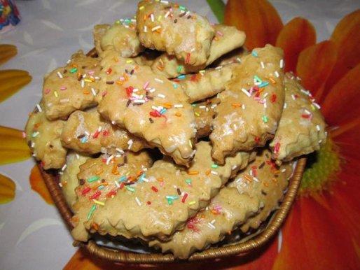 Рецепт. Постное печенье на рассоле