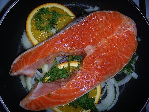 Рецепт. Красная рыба слабосоленая (как засолить красную рыбу)