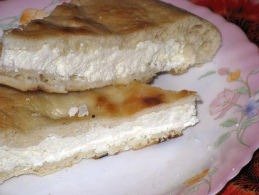 Рецепт. Сырный пирог с сыром сулугуни