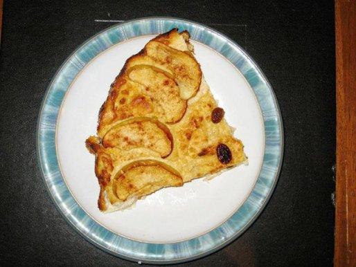 Рецепт. Творожная запеканка с яблоками