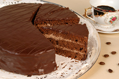 Рецепт. Пражский торт