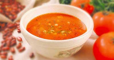 """Рецепт. Фасолевый суп с мясом """"Чили"""""""