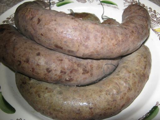 Рецепт. Печеночная колбаса