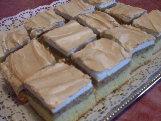 Рецепт. Бисквитное пирожное марципановое
