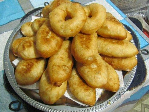 Рецепт. Пирожки с горохом жареные
