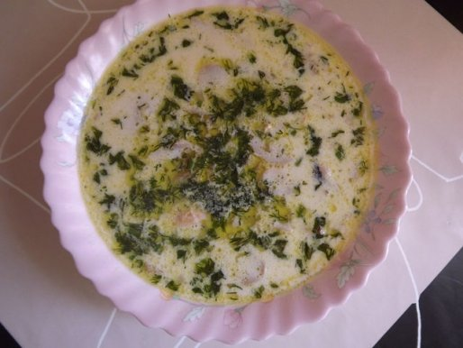 Рецепт. Суп из морепродуктов с креветками и мидиями